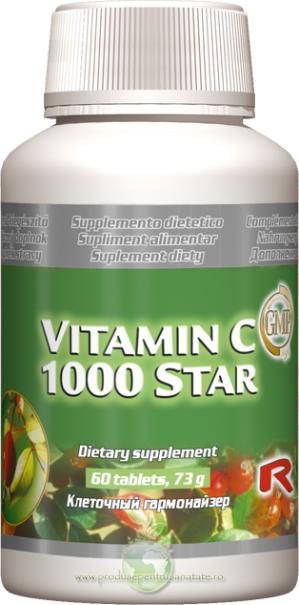 Vitamina C 1000 - pentru regenerarea celulelor