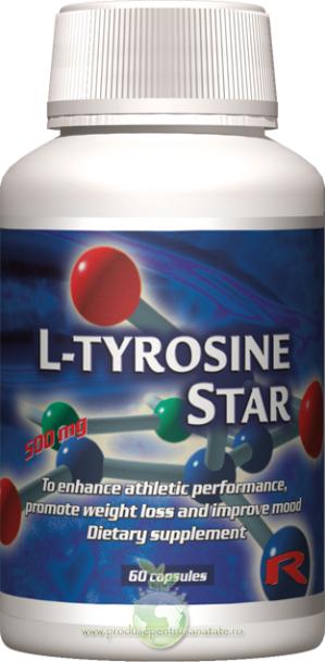 L-Tyrosine - pentru cresterea performantei fizice