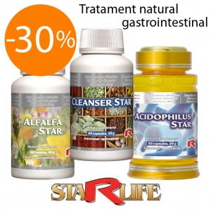 Tratament natural gastrointestinal