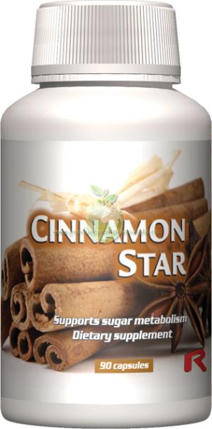 Cinnamon Star - efect antiseptic, ajuta circulatia sanguina si digestia