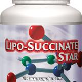 Lipo Succinate Star  - Acid alfa lipoic cu vitamina A, eficient impotriva diabetului