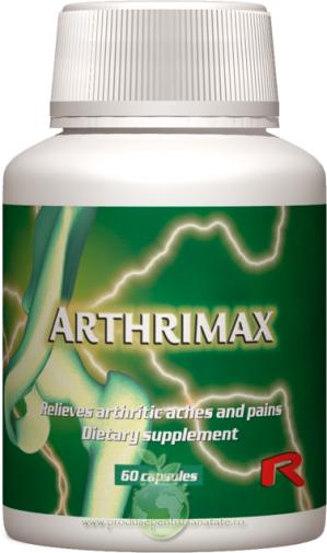 Arthrimax - formula impotriva artritei si durerii articulatiilor