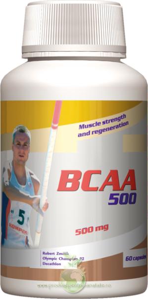 BCAA 500 - aminoacizi cu lanturi ramificate de carbon