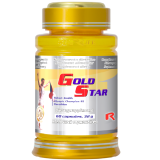Gold Star - Cordyceps+Ganoderma, creste rezistenta si vitalitatea