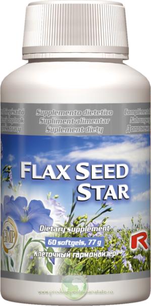 Flax Seed Star - acizi grasi omega 3, 6, 9