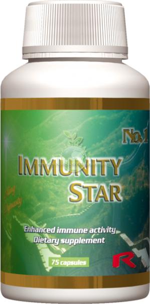 Immunity Star - contribuie la  functionarea sistemului imunitar
