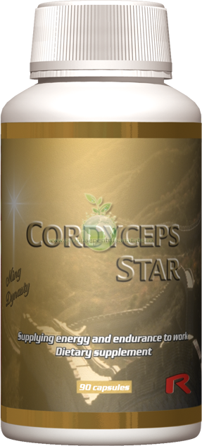 Cordyceps Star - antibiotic si antiinflamator