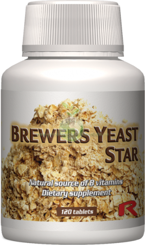 Brewers Yeast Star - pentru metabolismul zaharurilor, proteinelor si grasimilor