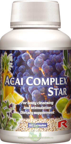 Acai Complex Star -  regleaza digestia si flora intestinala