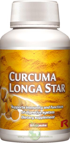 Curcuma Longa Star - intareste imunitea si ajuta digestia