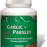 Garlic Parsley - efect antioxidant, antibacterial, antifungic, antimicotic, antiviral